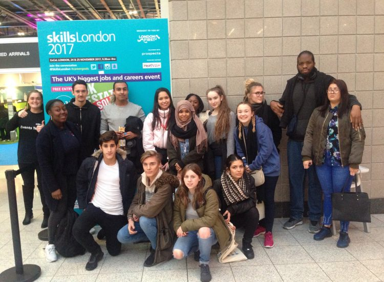 Young Leaders at Skills London 2017